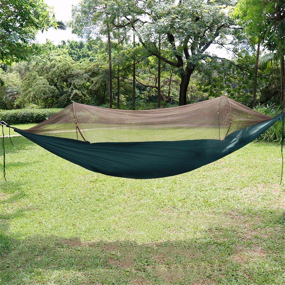 AanYuAan99 Hängematte Kommt Mit Moskitonetzen Mesh Portable Camping Doppel Camping Schaukel