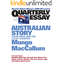 Quarterly Essay 36 Australian Story: Kevin Rudd and the Lucky Country