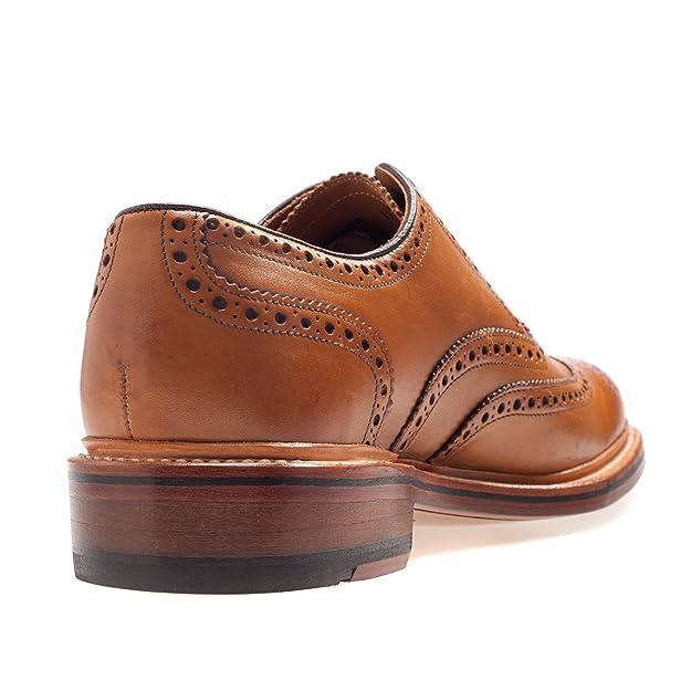 Gordon & Bros - Zapatos de cordones de Piel para hombre, color Marrón, talla 46