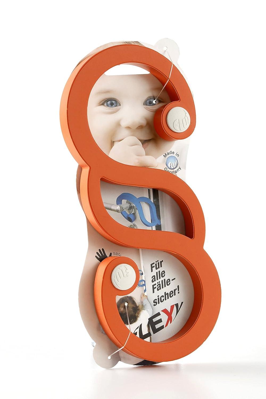 Orange Flux Design Flexy Baby Fingerschutz T/ürstopper Klemmschutz erh/ältlich in 6 Farben