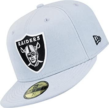 Gorra New Era: NFL Team Reverse Oakland Raiders GR 7.1/2: Amazon ...