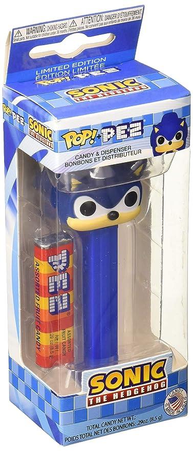 Amazon.com: Funko 34548 Pop Pez: Sonic, Multicolor: Toys & Games