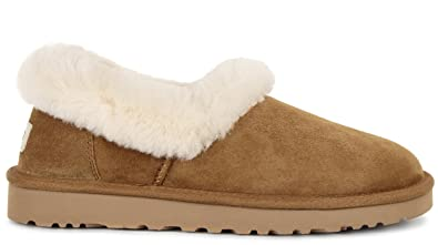 e24f361cf86 UGG Womens Nita Slippers Chestnut Size 8: Amazon.co.uk: Shoes & Bags