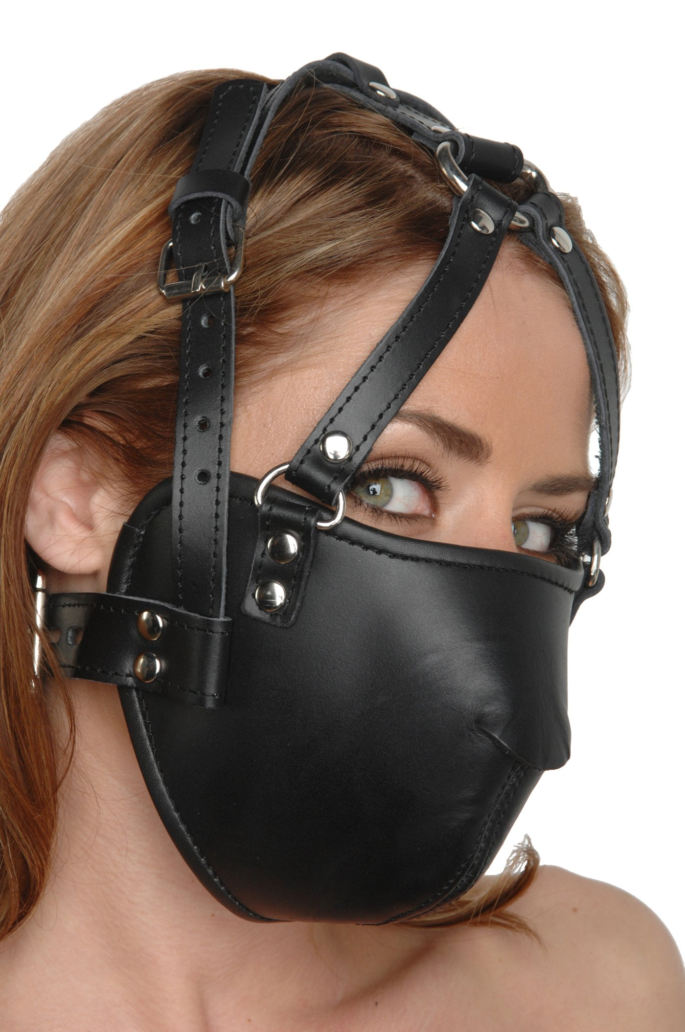 Amazoncom Strict Leather Leather Ball Gag Harness -8834