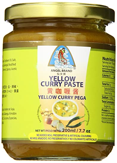 Angel Brand Yellow Curry Paste, 7.7 Ounce