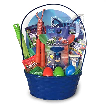 Amazon pj masks easter basket featuring cat boy sports outdoors pj masks easter basket featuring cat boy negle Choice Image