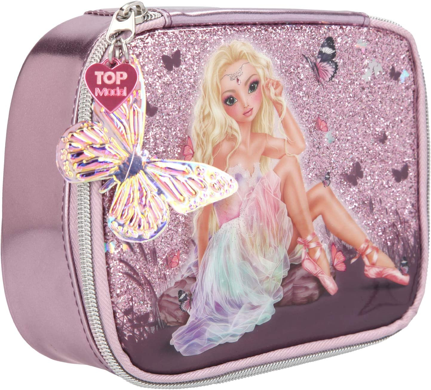 Depesche 10915 Fantasy Model Ballett - Neceser (7 x 15 x 19 cm), Color Rosa: Amazon.es: Juguetes y juegos