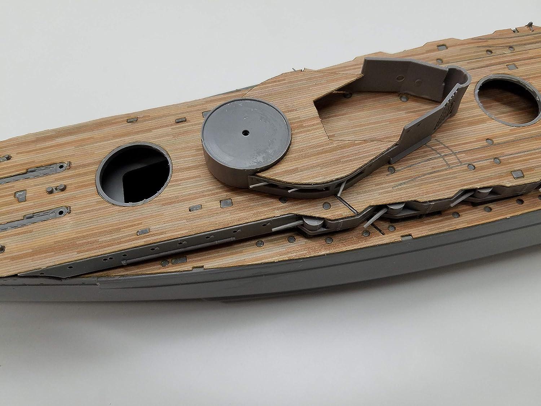 Amazon.com: Premium cubierta de madera para 1/350 SMS König ...