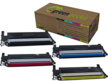 Toner Set sustituie Samsung CLT-P406C I para Samsung CLP-360, CLP ...