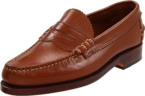Allen Edmonds - Mocasines de Cuero para Hombre Marrón Cuero: Amazon.es: Zapatos y complementos