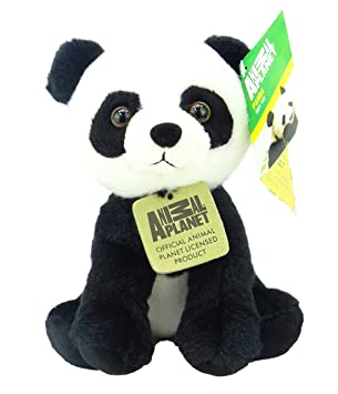 Animal Planet Jungle Cubs - 17cm Panda suave peluche de juguete