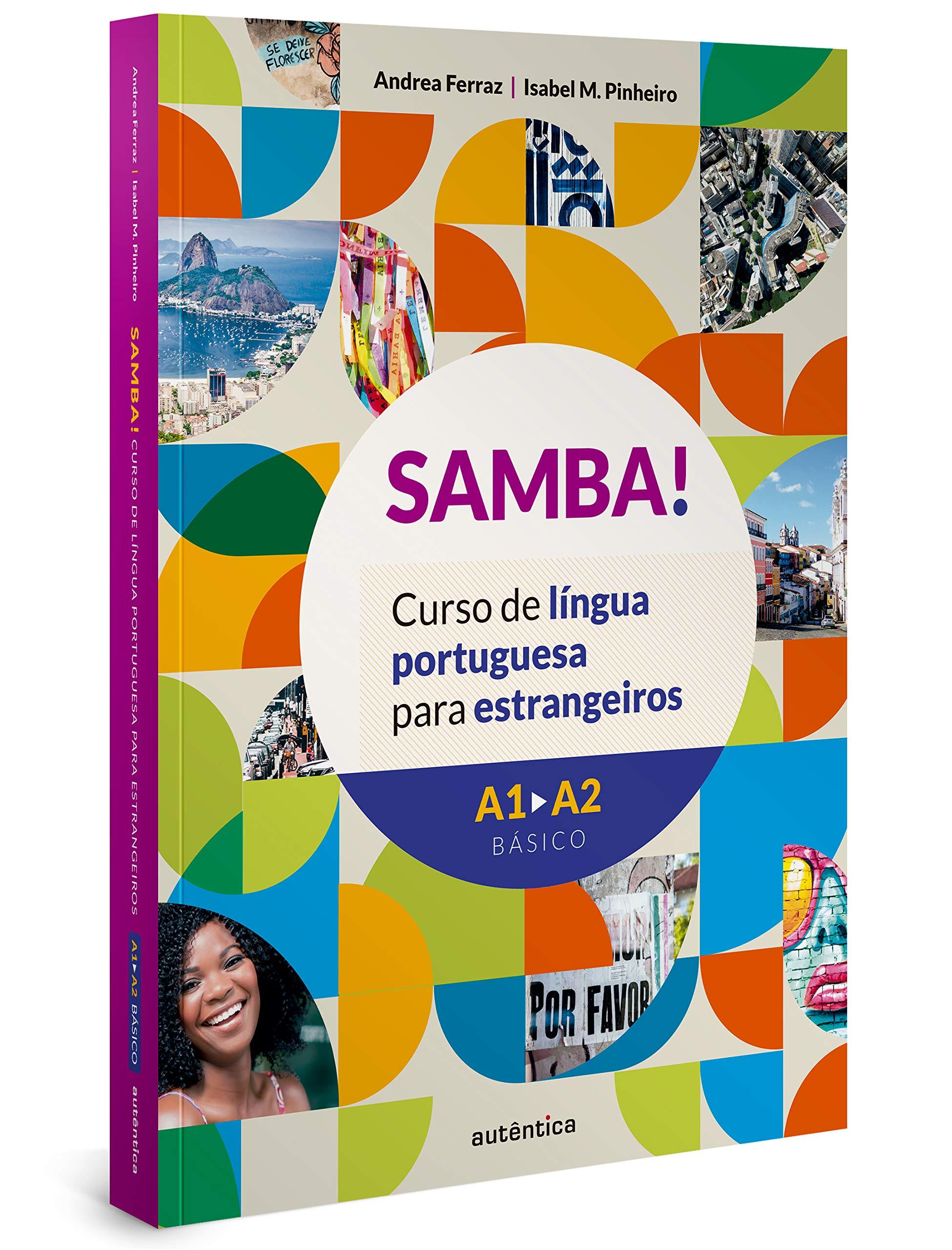 Samba Curso De Lingua Portuguesa Para Estrangeiros Em Portugues Do Brasil Andrea Ferraz Amazon De Bücher