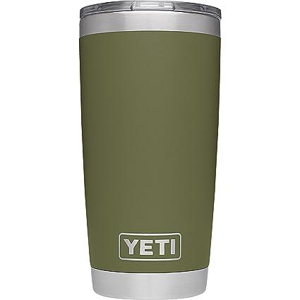 Yeti Rambler Sale >> Yeti 28000000548 20oz Olive Green Rambler 1 Ea