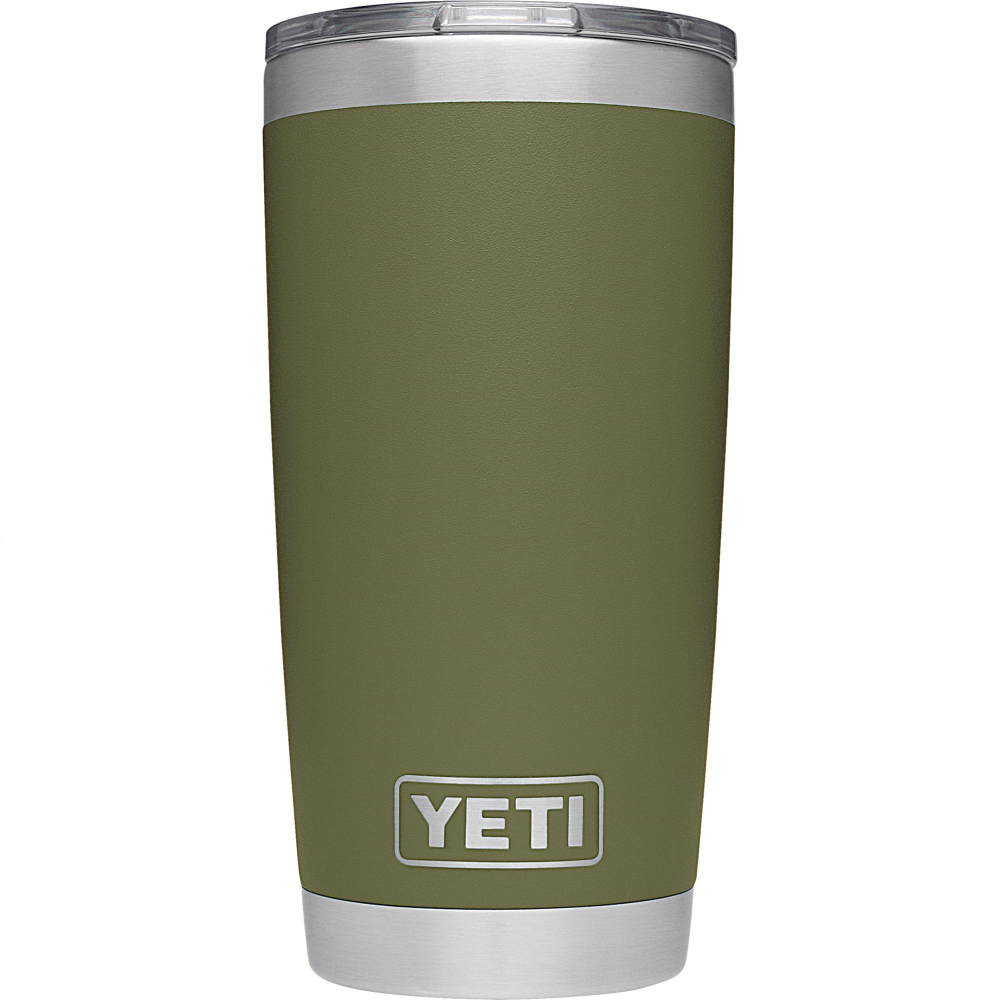 YETI Tumbler Rambler 20Oz Olive Green, 1 Each