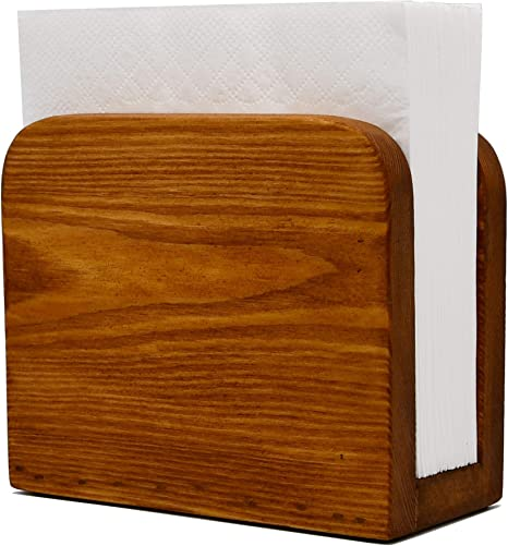 Napkin Caddy Napkin Box Wood Napkins Farmhouse Decor Wooden Napkin Box Yellow Napkin Box Napkin Holder Napkin Holder Wood