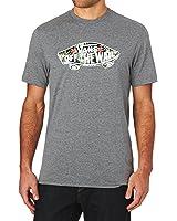Vans T-shirts - Vans Otw Logo Fill T-Shirt - Heather Grey-black Decay Palm