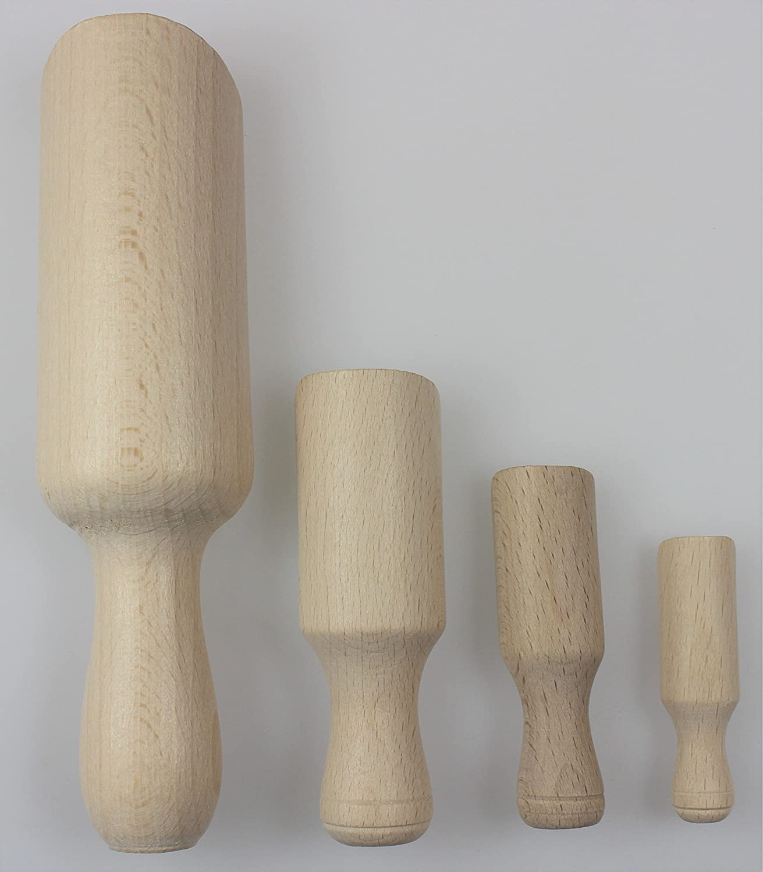 17 cm 4 St/ück Holzl/öffel 1pcs holz 8,5 cm natur 10 cm 6 cm 7.1 18cm
