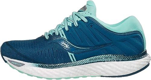 NIB Saucony Women/'s Hurricane 22 Running Shoes Blue//Aqua WIDE