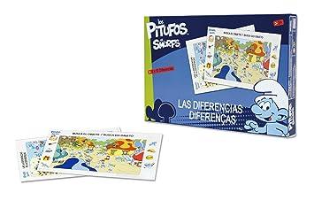Los Pitufos - Busca las diferencias, juego de mesa (Falomir 22029): Amazon.es: Juguetes y juegos