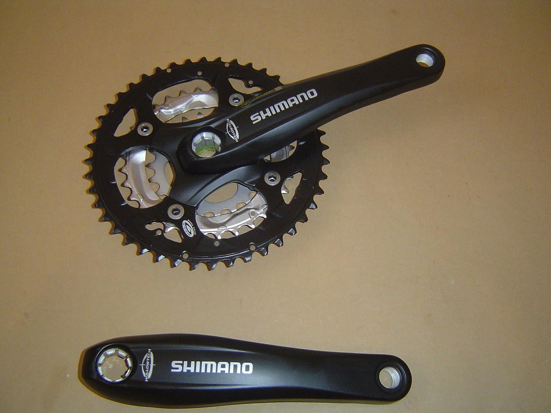 Linke Shimano Kurbel 170mm Shimano FC silber