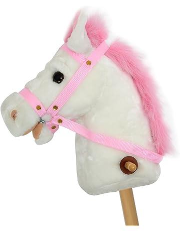 Pink Papaya Caballo de Juguete, Lilly, Bonito Caballo de Juguete de Peluche con Sonido