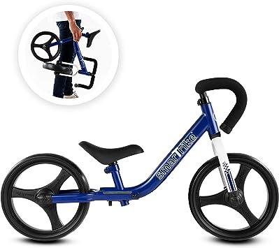 smarTrike Bicicleta de Equilibrio Plegable con Equipo de Seguridad para 2-5 años de Edad: Amazon.es: Juguetes y juegos