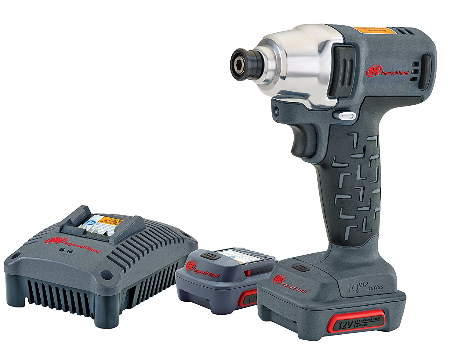 Ingersoll Rand W1110-K2 1 4 12V Hex Quick-Change Impact Wrench Kit