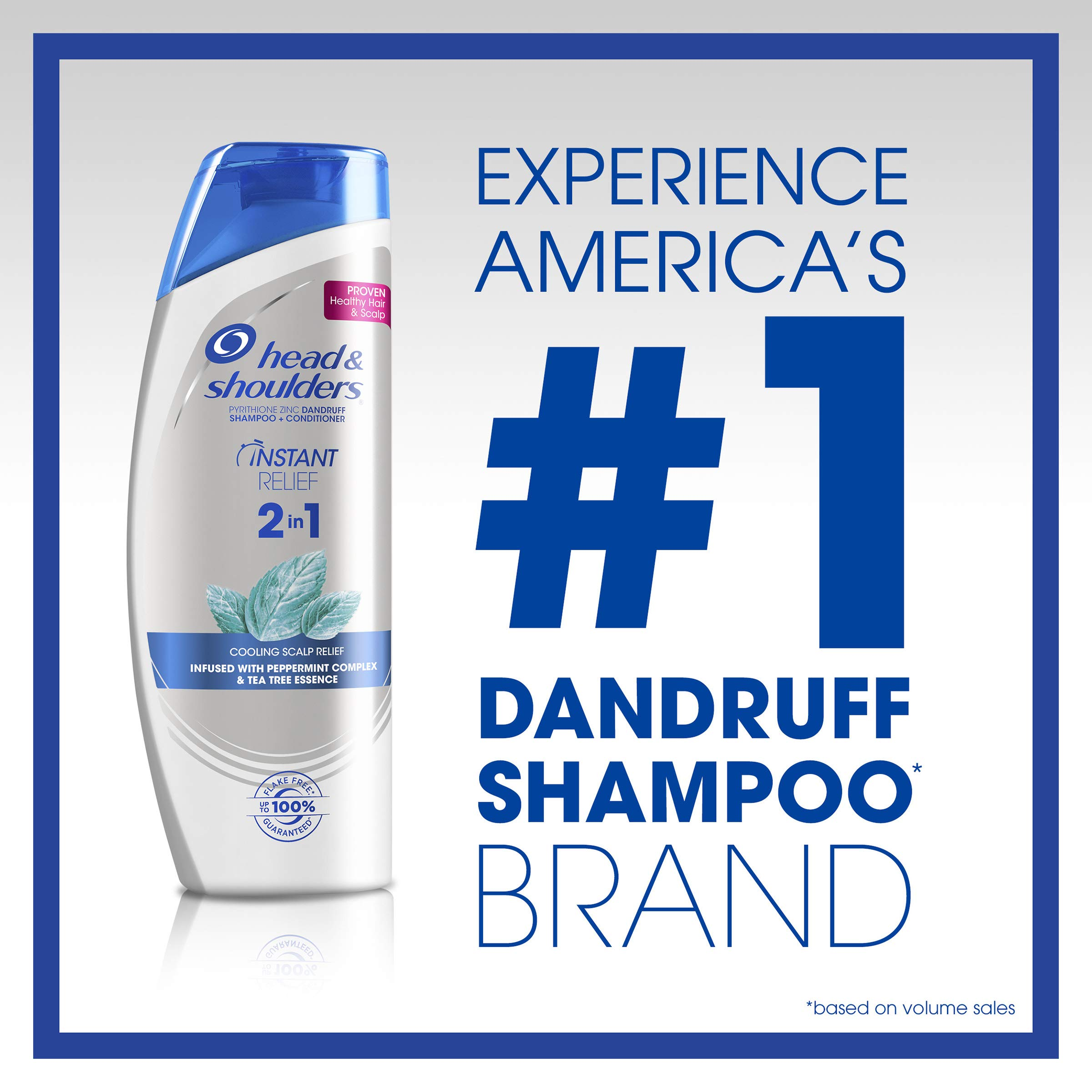 Head and Shoulders Instant Relief Anti-Dandruff 2 in 1 Shampoo & Conditioner, 22.5 Fl Oz (Packaging May Vary) by Head & Shoulders (Image #3)