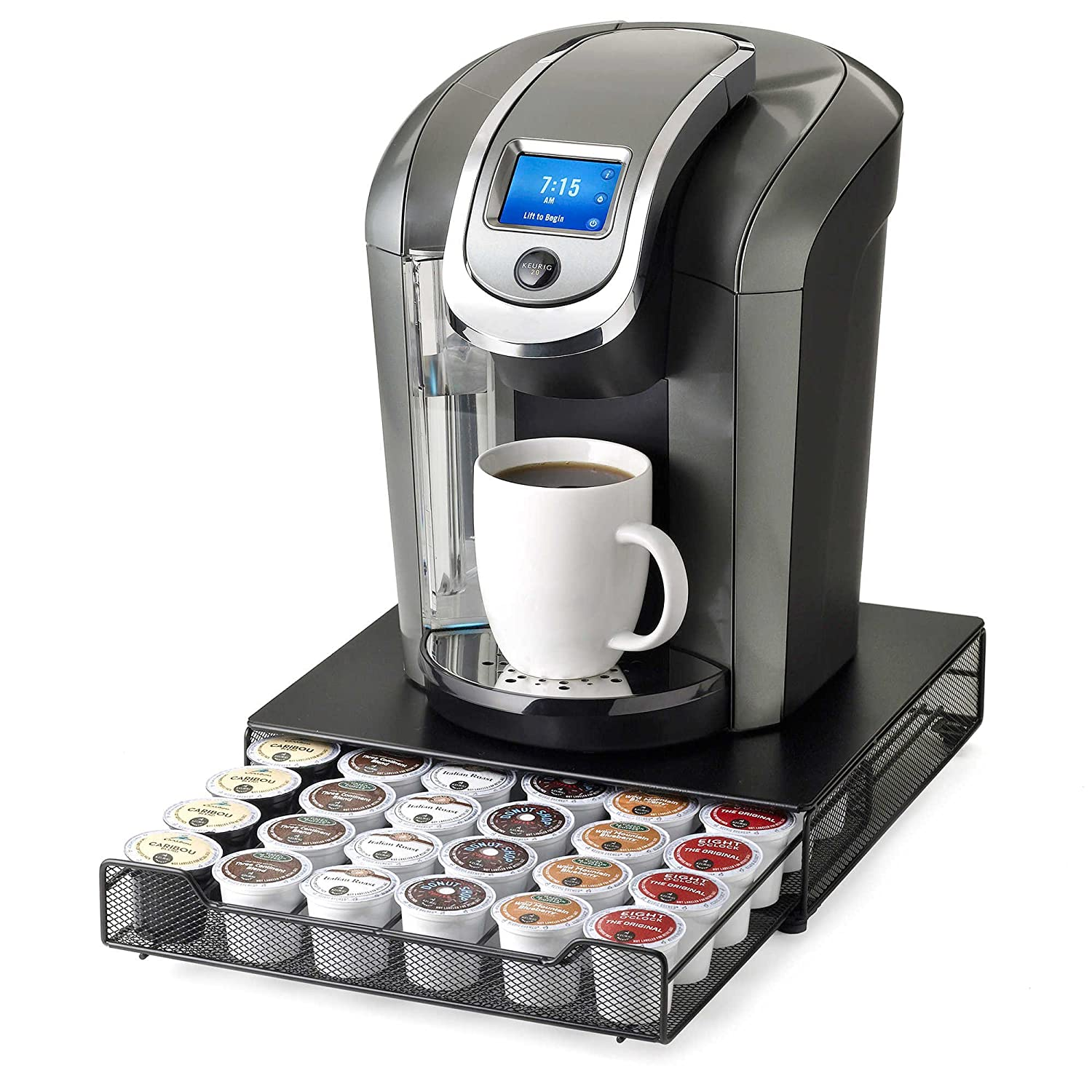 Keurig Brewed Under the Brewer 36 K-Cup Capacity Rolling Drawer by Nifty - Drawer Only