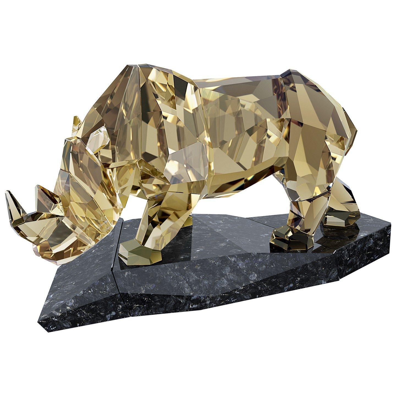 Swarovski Crystal Rhinoceros Figurine
