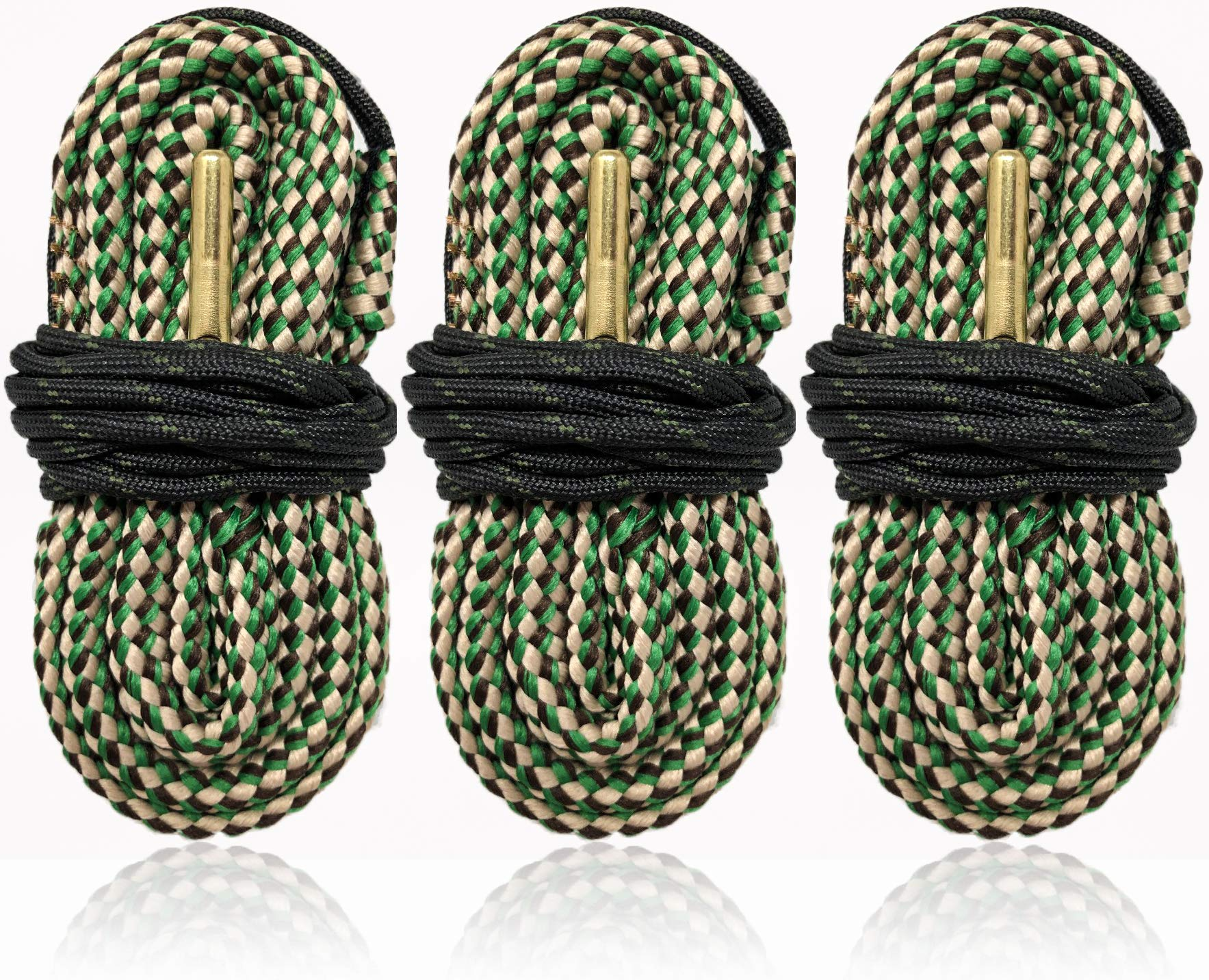 Bore Snakes Cleaning Kit 3 - Pack for .308 7.62x39 30-06 .300 30-30 .30 Caliber Rifles - Easy One Swipe Gun Cleaning by Cobra Bore Snake