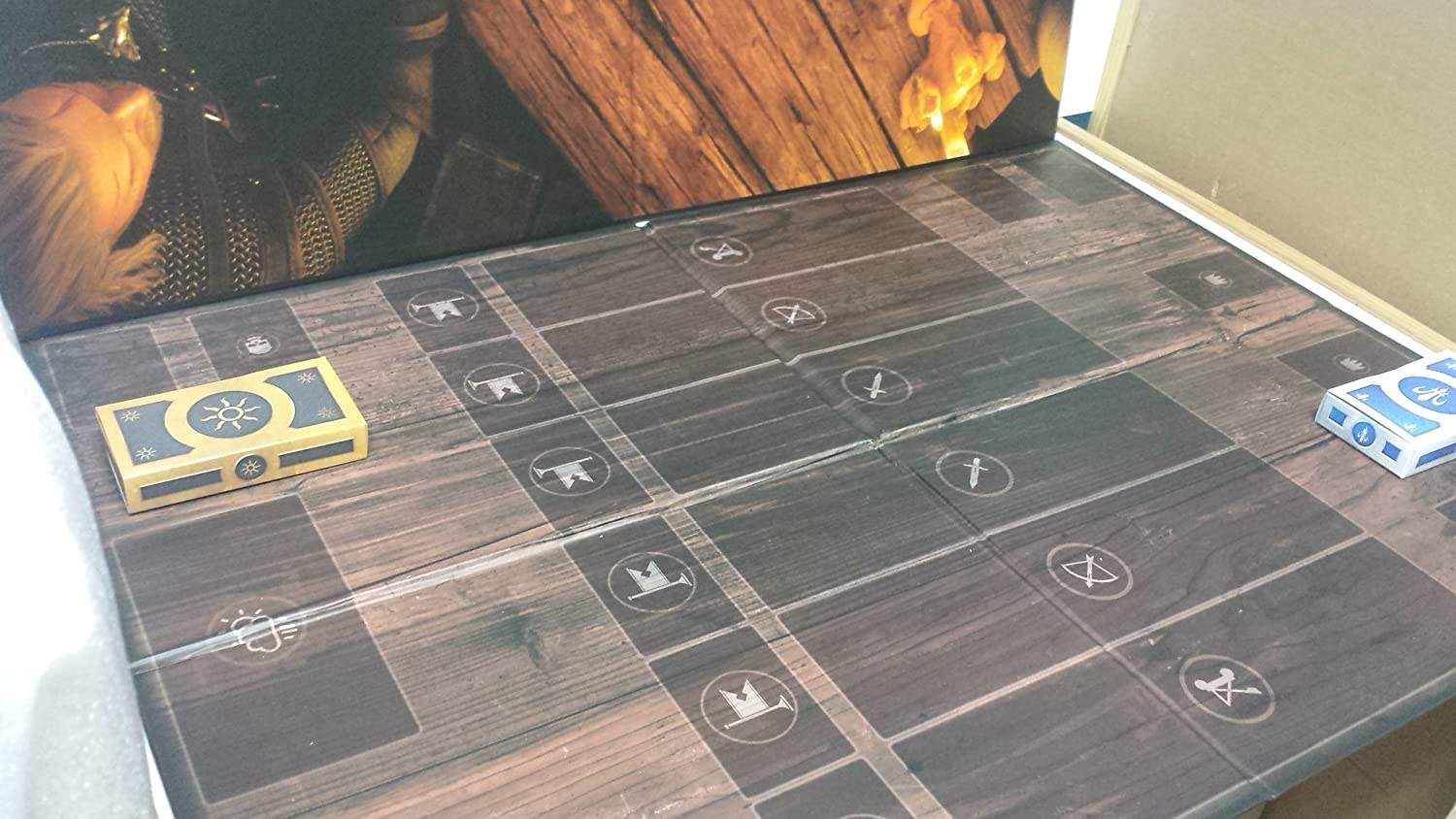 Witcher Gwent Gamingboard - Tablero y Poster de White Orchard.