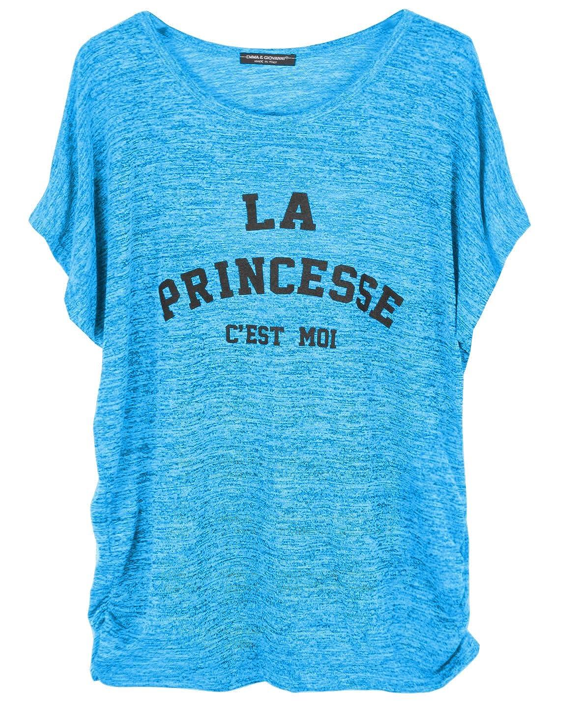 Donna T-Shirt//Top Emma /& Giovanni