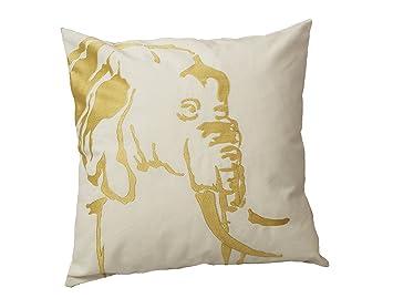 Amazon.com: Urban Loft de Westex África oro elefante blanco ...