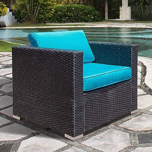 Outdoor Patio Single Sofa