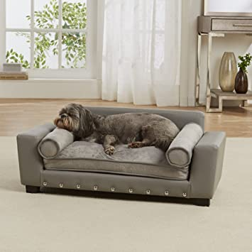 Admirable Enchanted Home Pet Grey Scout Pet Sofa Gmtry Best Dining Table And Chair Ideas Images Gmtryco