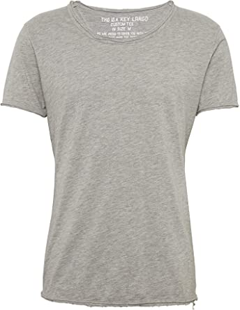 KEY LARGO - Camiseta para Hombre, Color Plateado: Amazon.es: Ropa y accesorios