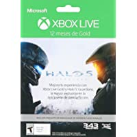 Membresía 12 meses Xbox Live Gold Halo 5 + DLC - Special Limited Edition