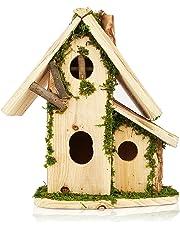 Umsky Bois d?coratifs Nichoir, bois massif Nest Ornaments