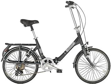"""Bicicleta plegable Monella de Alpina con marco de aluminio y ruedas de 20 """","""