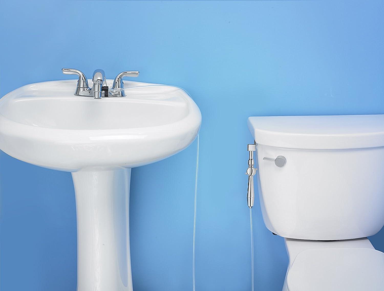RinseWorks - Aquaus 360 for Faucet Warm Water Bidet w/ EZ Thumb ...
