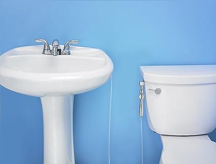 Rinseworks Aquaus 360 For Faucet Warm Water Bidet W Ez Thumb