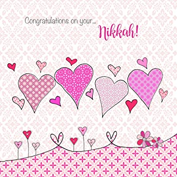 Congratulations on your nikkah islamic card muslim wedding congratulations on your nikkah islamic card muslim wedding registration m4hsunfo