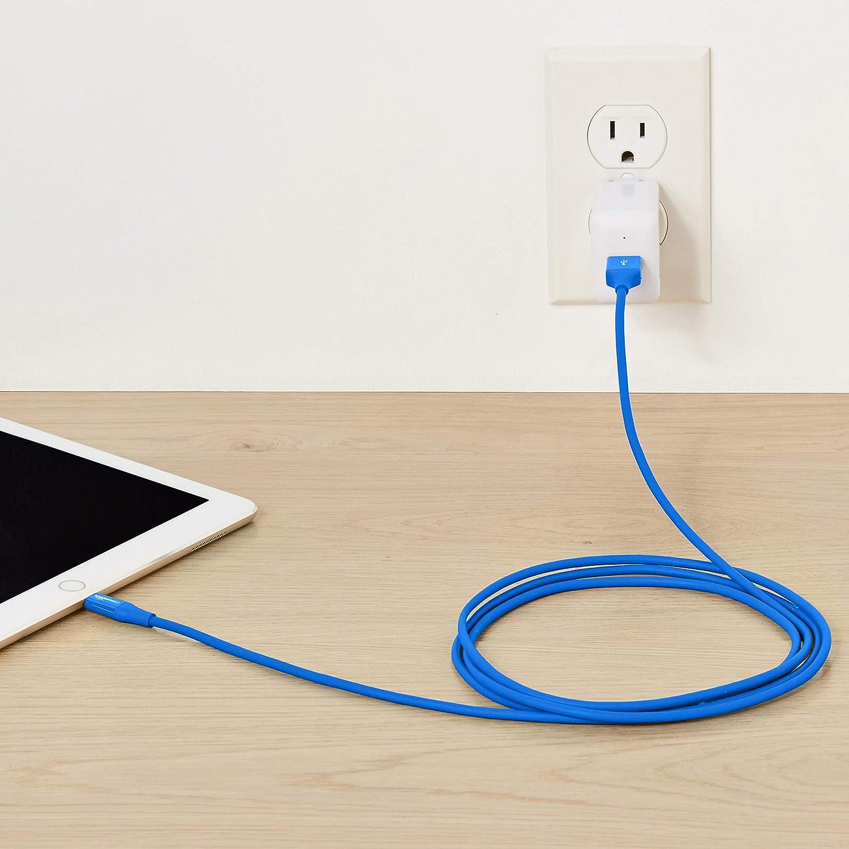 Blanc Basics C/âble Lightning vers USB A pour iPhone et iPad Lot de 1 1,8 m