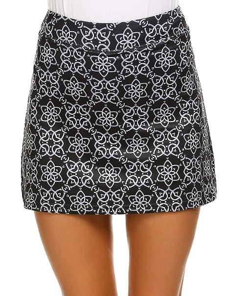 Ekouaer Women's Active Performance Skort Lightweight Skirt For Running Tennis Golf Workout Sports by Ekouaer