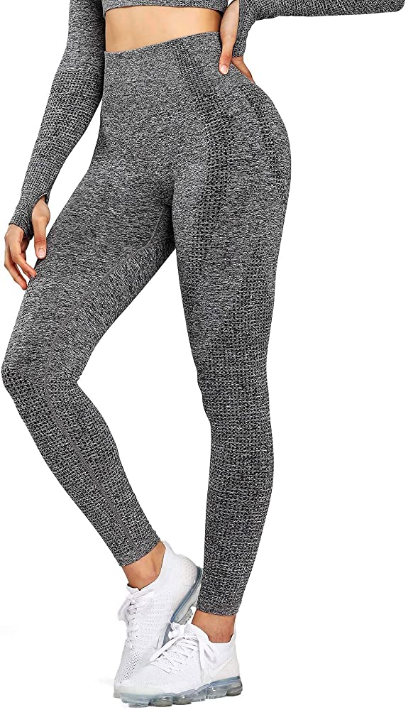 Womens High Waist Workout Gym Vital Seamless Leggings Yoga Pants
