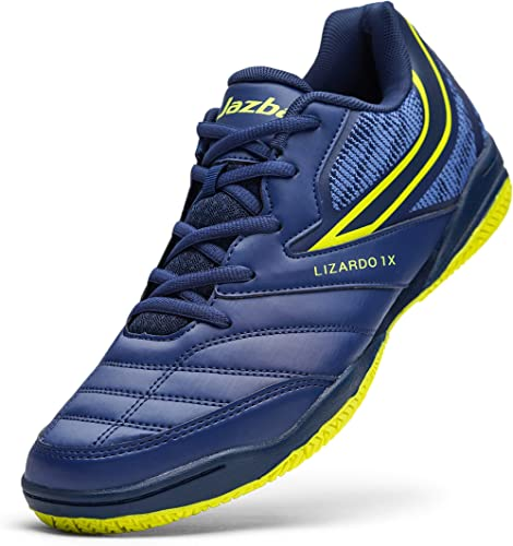Jazba Squash Shoes Men Tennis Badminton Racquetball Volleyball Pickleball Indoor Court Shoe Table Tennis Indoor Cricket Classic Comfortable Sneaker ...