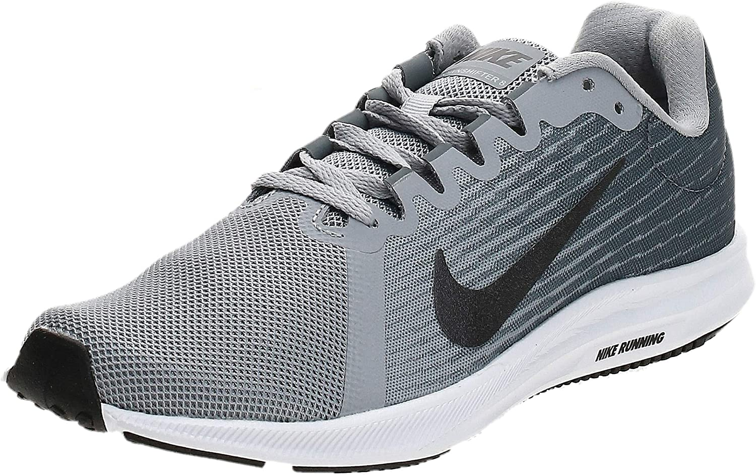 Nike Downshifter 8, Zapatillas de Entrenamiento para Mujer, Gris (Wolf Grey/Metallic Dark Grey-Cool Grey-Black 006), 38 EU: Amazon.es: Zapatos y complementos