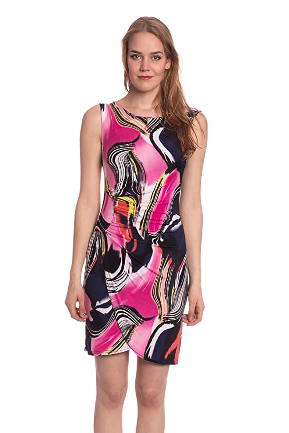 Abbino J493 Kleider Damen Frauen Mädchen - Made in Italy - Viele Farben - Übergang  Frühling Sommer Herbst Damenkleider Feminin Sexy Spitze Festlich Elegant ...