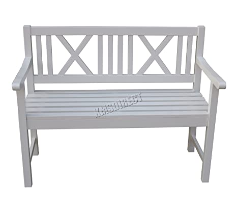 Collections Of White Garden Bench Uk Onthecornerstone